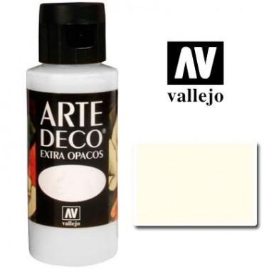 Pintura Vallejo Arte Deco Blanco Antiguo