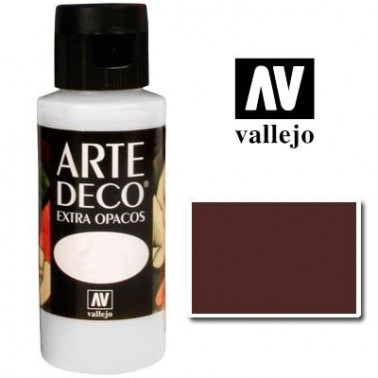 Pintura Vallejo Arte Deco Chocolate
