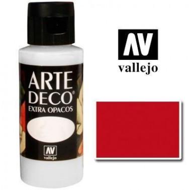 Pintura Vallejo Arte Deco Rojo Cadmio Oscuro