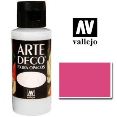 Pintura Vallejo Arte Deco Rosa Oscuro