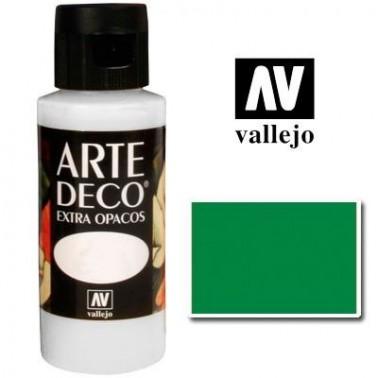 Pintura Vallejo Arte Deco Verde