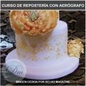 Curso Iniciación Repostería con Aerógrafo