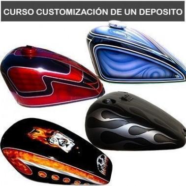 Curso Aerografía Depósito Moto