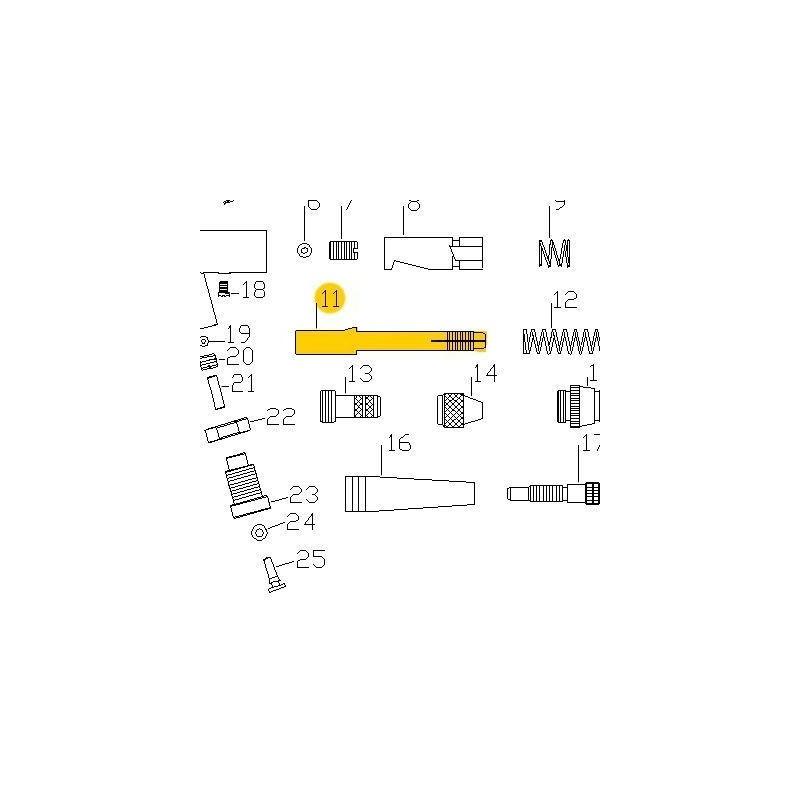 Recambio Aerografo Elite E7116 Porta Aguja