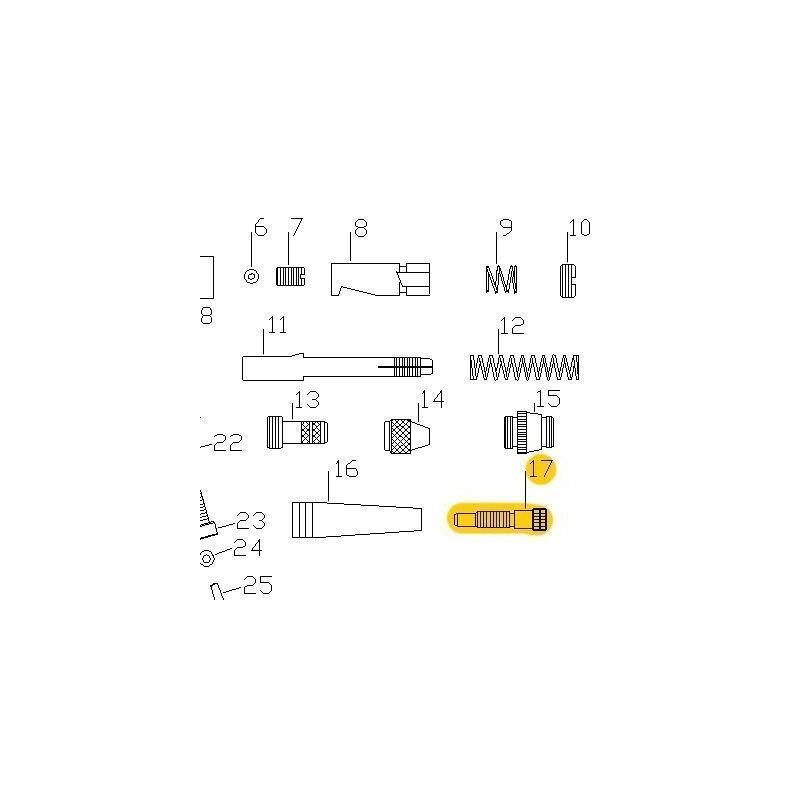 Recambio Aerografo Elite E7116 Regulador Pintura
