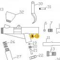 Tornillo de recambio para aerógrafos Elite E7116