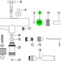 Rosca Guía Aguja de recambio para Aerógrafo Elite E7201