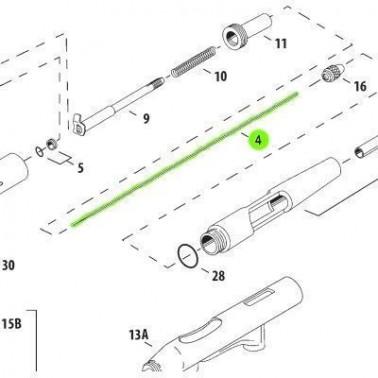 Recambio Aerografo Iwata Aguja 0.2