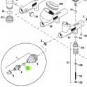 <p>Boquilla de 0.18 mm de recambio para aerógrafos Iwata Custom Micron CM-B y CM-SB</p>