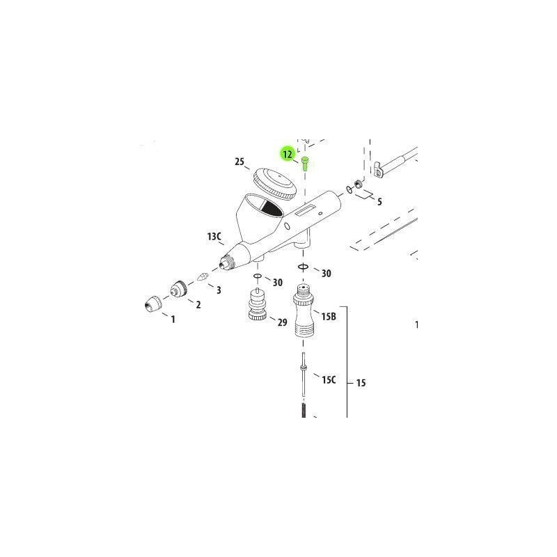 Recambio Aerografo Iwata Hi Line Piston