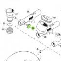 <p>Tapón lareral de recambio para aerógrafos Iwata Custom Micron modelo CM-SB, Iwata Eclipse modelo HP-SBS, Iwata High Performance modelo HP-SBP e Iwata Revolution modelos HP-TR1/TR2</p>