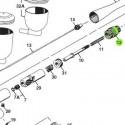 Cámara del Muelle de recambio para aerógrafos Iwata Revolution modelos HP-TR1/TR2