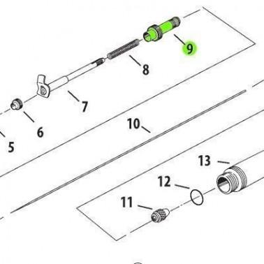 Recambio Aerografo Iwata Neo Caja Muelle