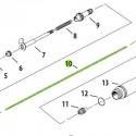 <p>Aguja 0.5 mm de recambio para Aerógrafos Iwata Neo modelos HP-BCN</p>