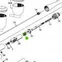 Recambio Aerografo Iwata Revolution Muelle Leva Deslizante