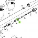 Anillo del Cuerpo de recambio para aerógrafos Iwata Revolution modelos HP-TR1/TR2