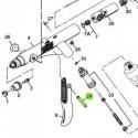 Perno del Gatillo de recambio para aerógrafos Iwata Revolution modelos HP-TR1/TR2