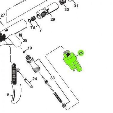 Recambio Aerografo Iwata Revolution Filtro