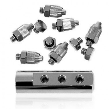 Conector 1 G1/4H 6 x M5H