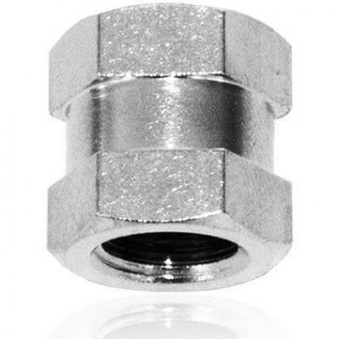 Conector Doble Tetina con 2 x 1/8 H