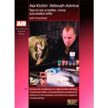 DVD Ass Kickin Airbrush Advice With Cross-Eyed