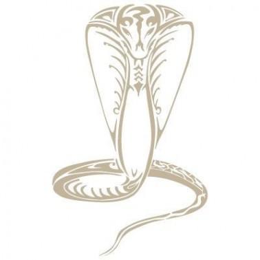 Stencil Aerografia Animal 001 Cobra