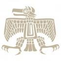 <h2>Stencil Aerografia Cultura Maya 005 Aguila</h2><p>Medidas aproximadas:</p><ul><li>Medida exterior del stencil: 20 x 20 cm</li><li>Medida del diseño: 15,2 x 12,9 cm</li></ul><p>* Podemos hacerle la figura del tamaño que desee.</p>