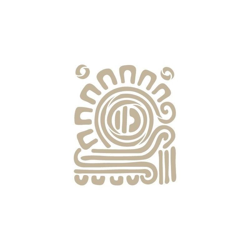 Stencil Aerografia Cultura Maya 006 Simbolo