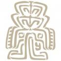 <h2>Stencil Aerografia Cultura Maya 007 Simbolo</h2><p>Medidas aproximadas:</p><ul><li>Medida exterior del stencil: 20 x 20 cm</li><li>Medida del diseño: 13,8 x 16,3 cm</li></ul><p>* Podemos hacerle la figura del tamaño que desee.</p>