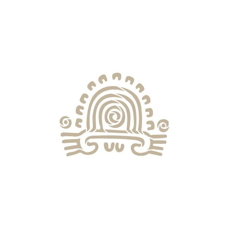 Stencil Aerografia Cultura Maya 008 Simbolo