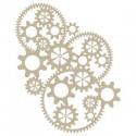 <h2>Stencil Aerografia Efectos 009 Engranaje Complejo</h2><p>Medidas aproximadas:</p><ul><li>Medida exterior del stencil: 20 x 30 cm</li><li>Medida del diseño: 19 x 21,6 cm</li></ul><p>* Podemos hacerle la figura del tamaño que desee.</p>