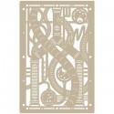 <h2>Stencil Aerografia Efectos 011 Tuberias Vapor</h2><p>Medidas aproximadas:</p><ul><li>Medida exterior del stencil: 20 x 30 cm</li><li>Medida del diseño: 20 x 30 cm</li></ul><p>* Podemos hacerle la figura del tamaño que desee.</p>