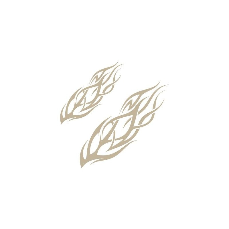 Stencil Aerografia Flame Fuego 004