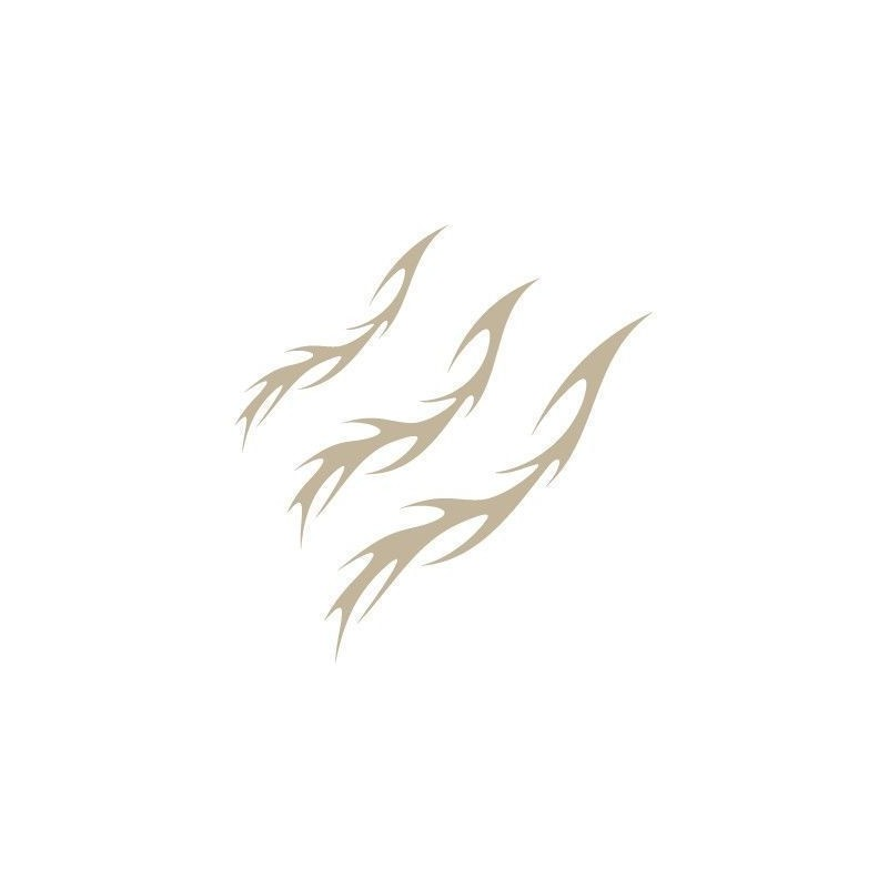 Stencil Aerografia Flame Fuego 006