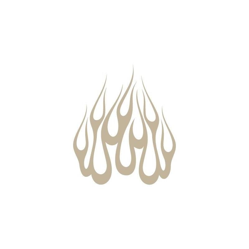 Stencil Aerografia Flame Fuego 007