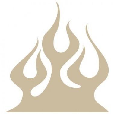 Stencil Aerografia Flame Fuego 020