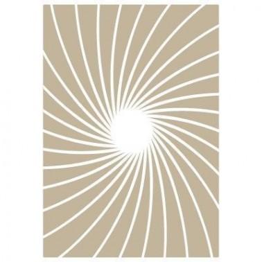 Stencil Aerografia Fondo 002 Rayos Sol