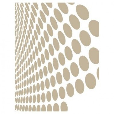 Stencil Aerografia Fondo 008 Circulos Onda Perspectiva