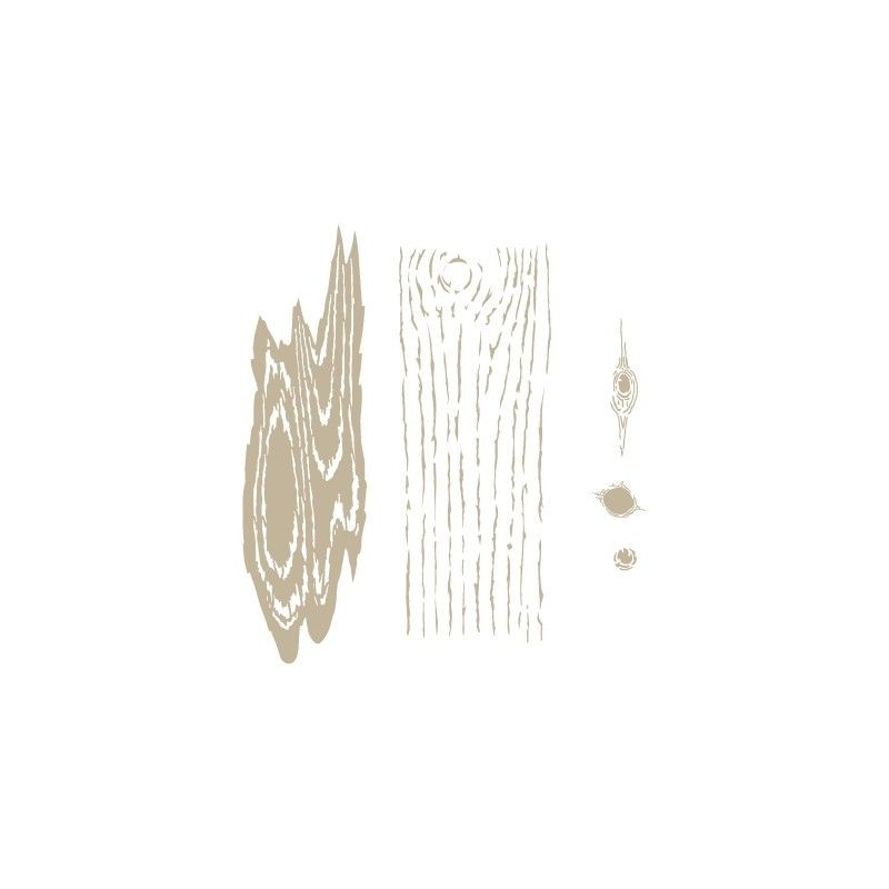 Stencil Aerografia Textura 012 Vetas Madera