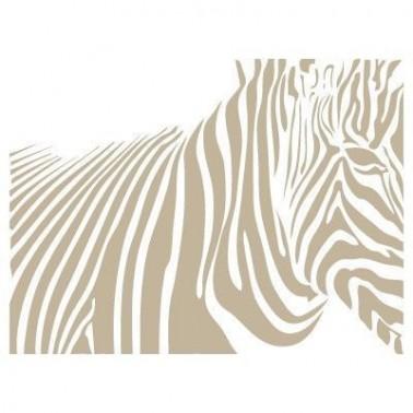 Stencil Aerografia Textura 022 Cebra