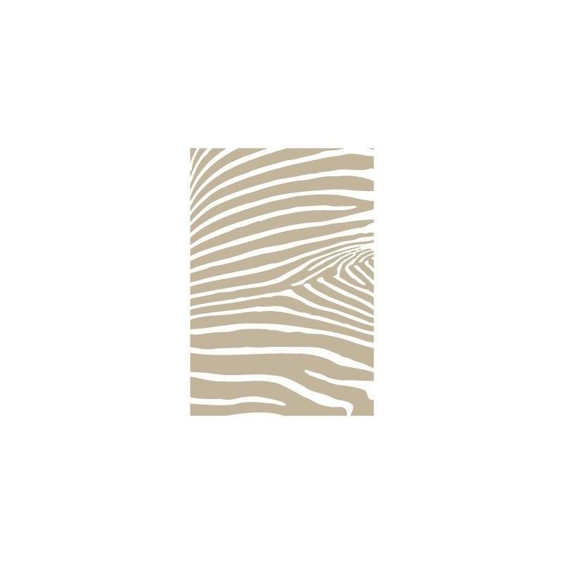 Stencil Aerografia Textura 023 Cebra