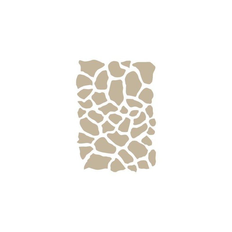 Stencil Aerografia Textura 045 Jirafa