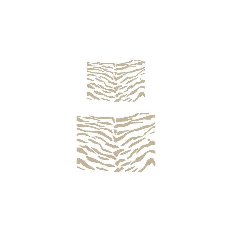 Stencil Aerografia Textura 046 Tigre