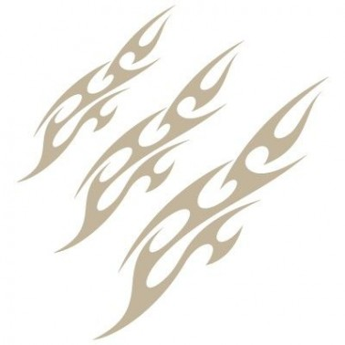 Stencil Aerografia Tribal 001