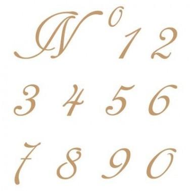Stencil Deco Abecedario Numeros 001
