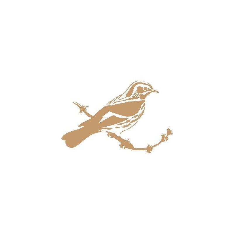 Stencil Deco Animales 007 Pájaro
