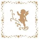 Stencil Deco Vintage Composición 002 Angel