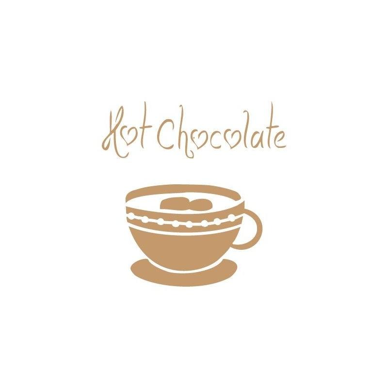 Stencil Deco Vintage Composición 029 Hot Chocolate