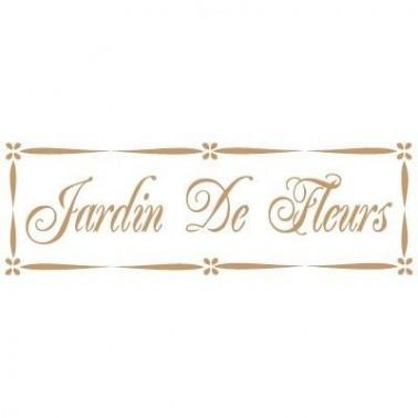 Stencil Deco Vintage Composición 032 Jardin Fleurs