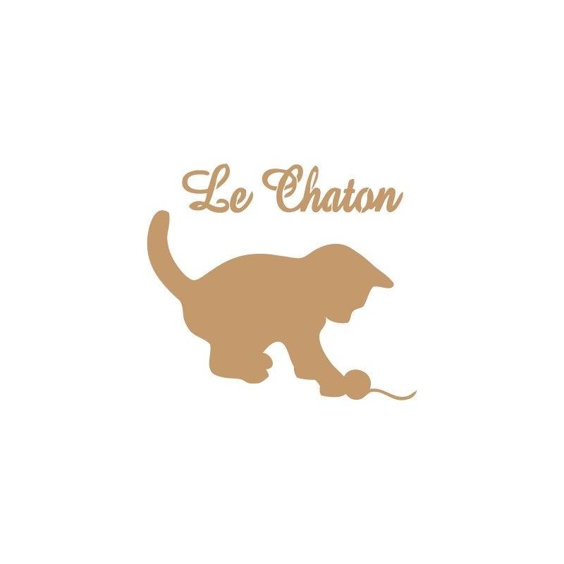 Stencil Deco Vintage Composición 037 Le Chaton